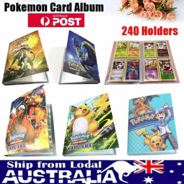 Pokemon Cards Album Binder Folder Book List Collectors 240 Cards Capacity Holder