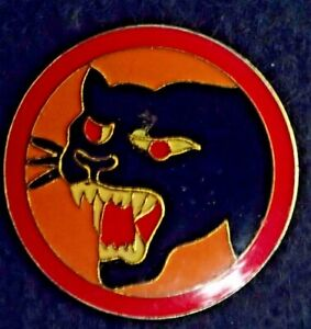 US-Army-66th-Infantry-Division-Panther-DI-DUI-Crest-Lapel-Jacket-Hat-Pin-Overlor