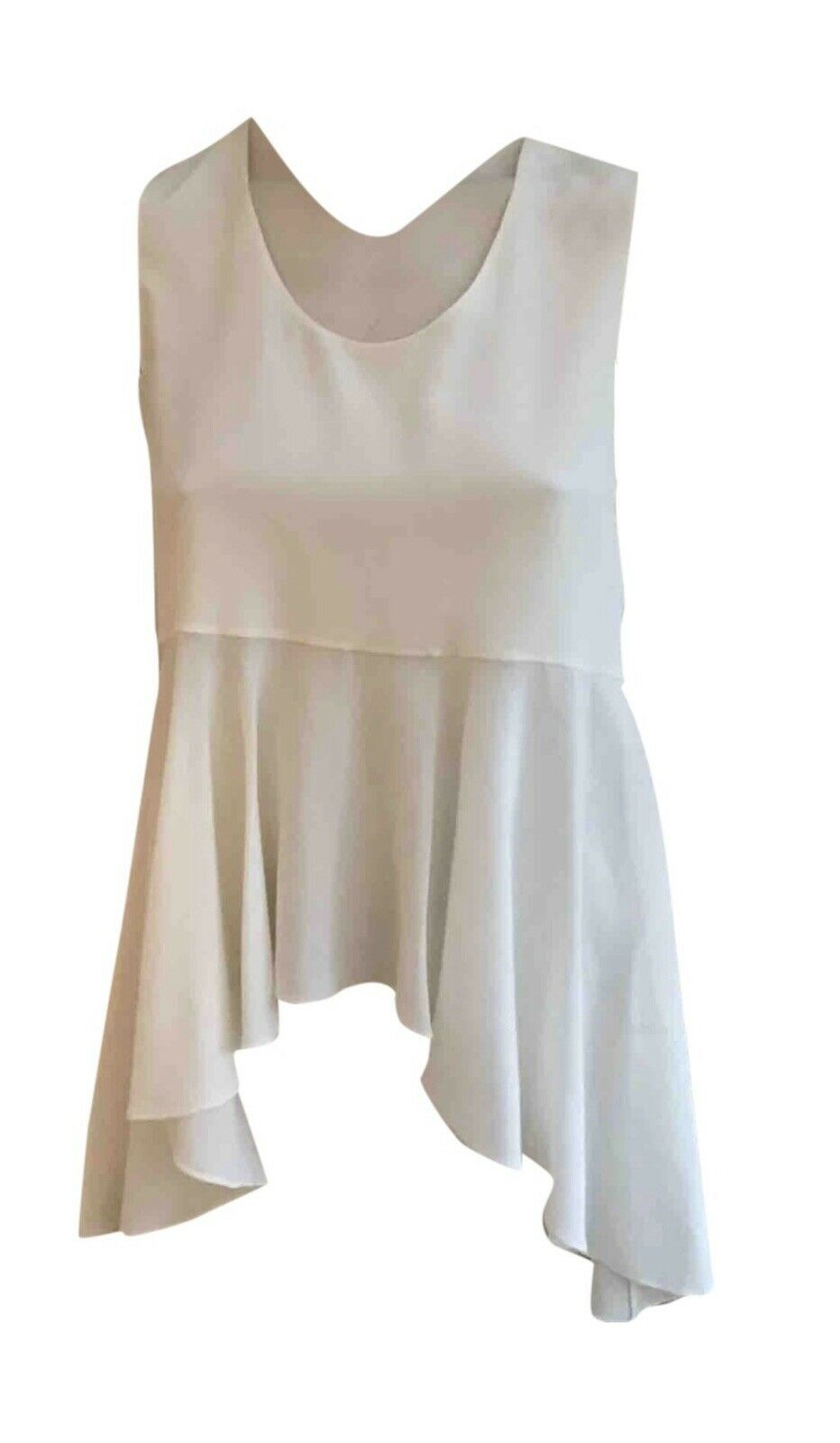 ,628 chloe chloe 2015 fuyarde péplum top blouse f 34 uk 4 us 0 xxs