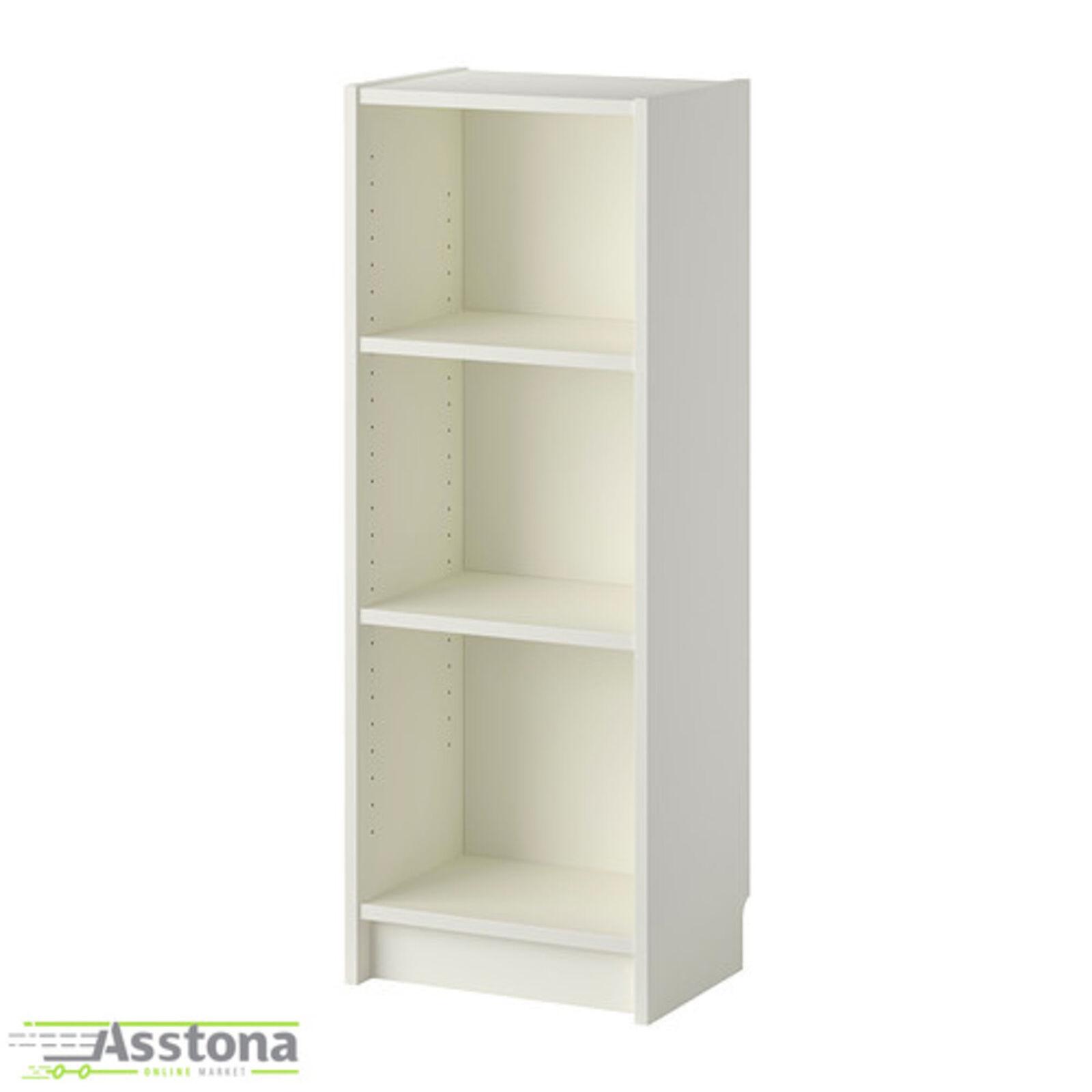 40x28x106cm IKEA BILLY Bücherregal in schwarzbraun; Holzregal Wohnzimmerregal