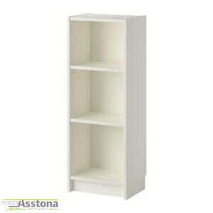 Details zu IKEA BILLY Bücherregal in weiß 40x28x106cm Holzregal  Wohnzimmerregal