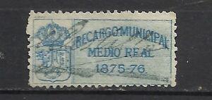 3459-SELLO-FISCAL-CLASICO-ESPANA-MADRID-IMPUESTOS-SIGLO-XIX-1875-SPAIN-REVENUE-T