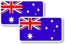 Vinyl sticker/decal Small 70mm Australia flag - pair