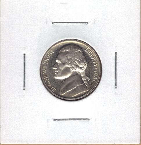 1989-S CHOICE PROOF JEFFERSON NICKEL