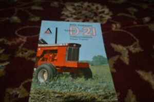 Allis Chalmers D-21 Series II Tractor Brochure FCCA