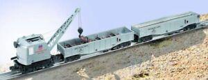 NEW-Lionel-6-31706-Union-Pacific-Burro-Crane-Set-Silver-Box-249