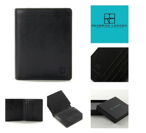 Briques de Luxe Homme En Cuir Véritable Portefeuille Porte-carte RFID Bloquant Coffret Cadeau