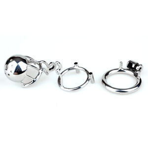 "New Arrival 316 Stainless Steel Male PA Chastity Device Kidding Zone ""Bridge""-01"