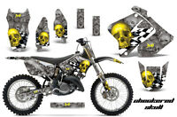 Amr Racing Suzuki Rm 125/250 Graphic Kit Plates Decal Sticker Part 01-09 Cs Y