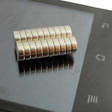 20pcs 6mm x 2mm Rare Earth Neodymium N35 Disc Magnets For Craft Models Fridge
