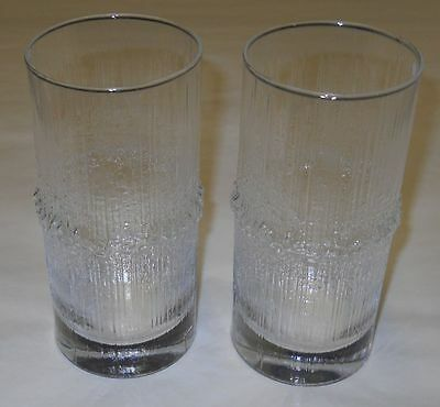 Tapio Wirkkala Vintage Niva Glasses Tumblers Iittala Finland