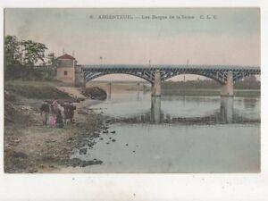 Argenteuil Berges de la Seine France Vintage Postcard 401b - Aberystwyth, United Kingdom - Argenteuil Berges de la Seine France Vintage Postcard 401b - Aberystwyth, United Kingdom