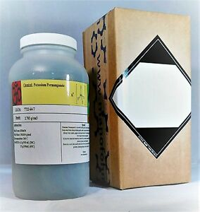 Potassium-Permanganate-3-pounds-KMnO4-Free-Flowing-Condy-039-s-Crystals-With-MSDS