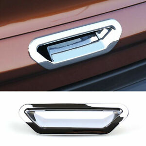 Rear Trunk Door Handle For Ford Escape Kuga 2013-2018 Chrome Bowl Cover Trim