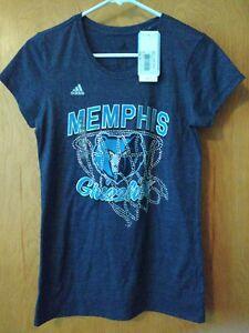 New Adidas Memphis Shirt Women's size Medium NBA 4her NEW NWT