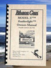 Item 1 ITHACA Model 37 Featherlight Pump Shotgun Gun Owners Instruction MANUAL