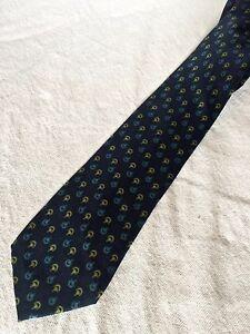 GUCCI-cravatta-tie-original-100-seta-silk-made-in-Italy-vintage-new-nuova