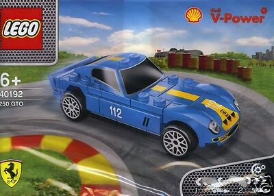 LEGO Ferrari Shell 40192 V-Power Ferrari 250 GTO mit Rückziehmotor