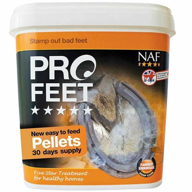 NAF ProFeet Pellets Hoof Supplement - For Horses and Ponies - BN