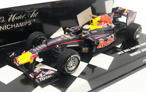 Minichamps-Escala-1-43-410-100305-F1-Red-Bull-Racing-Renault-RB6