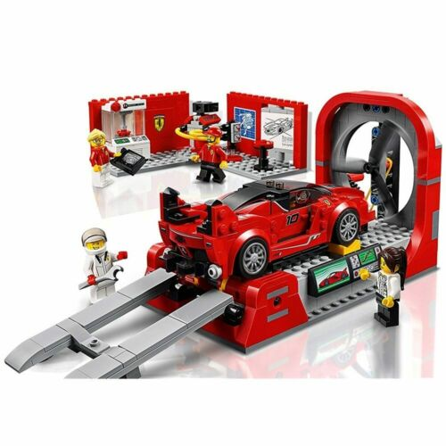 532Pcs Bricks City Speed Champions Ferrari FXX K Center Building Blocks Set Toy