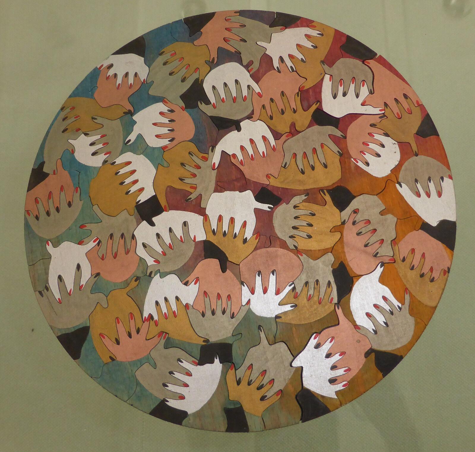 Exclusives PUZZLE  aus Sperrholz    Handmade von einer Künstlerin   KP