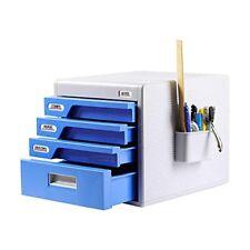 Locking Drawer Cabinet Desk Organizer Home Office Desktop File Storage Box