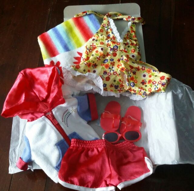 RETIRED American Girl Doll Julie 2-in-1 Summer Outfit Shorts ONLY