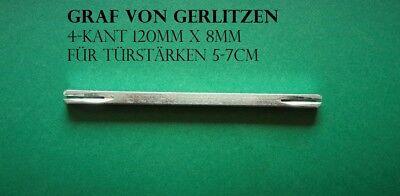 Luxusgriffe Tür Griff Türgriffe 4 Kant Vierkantstift Spaltstift Ersatzteil 13cm
