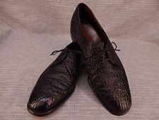 ALLEN EDMONDS SHARKSKIN NASSAU Ostendo Oxford Wingtips Vintage Men's Size 9.5 D