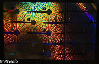Hologram Secure Flower Overlays Inkjet Teslin ID Cards - Lot of 50