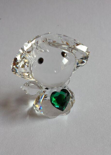 Swarovski, Sale  Birthstone Angel May, Green Heart, Lim-Ed 500. Art No 5041817