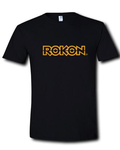 2XL Rokon Logo 2 Wheel Drive Off Road Motorcycles Trail Breaker Black T-Shirt S