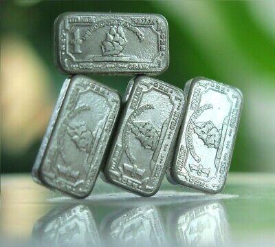 1 oz USA Scorpion .999 Pure Titanium Gold Plated Bullion Bar Ti Element 5