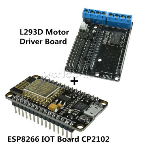 ESP8266 CP2102 IOT Board for Arduino NodeMcu ESP-12E L293D Motor Driver Shield