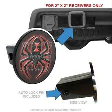 "Custom Class 3 Tow Hitch Receiver 2"" Insert Plug Truck & Suv - Widow Spider"