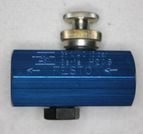 Festo 2101 talla 1//40 drosselrückschlagventil neumático regla válvula 0-10 bar