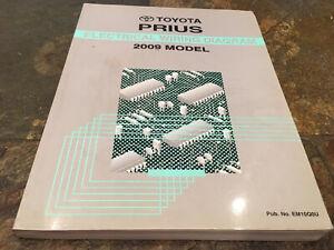toyota prius wiring diagram 2009 toyota prius wiring diagrams electrical service manual ebay  2009 toyota prius wiring diagrams