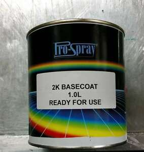 SPRAY PAINT CODE CAR 1L Peugeot 106 107 206 207 208 306 307 308 406 ...