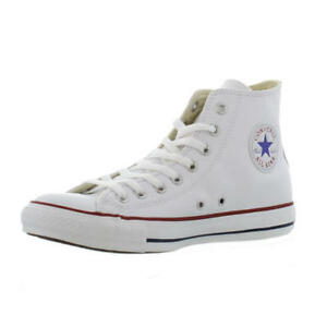 Converse in pelle Lace Up Hi Top Boots Taglia UK 8 EU 41.5