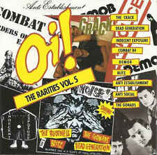 Oi! THE RARITIES VOL.5 V/A CD Oi! PUNK SKINHEAD BLITZ COMBAT 84 THE CRACK GONADS