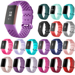 For-Fitbit-Charge-3-Watch-Band-Replacement-Breathable-Wrist-Bracelet-Accessories