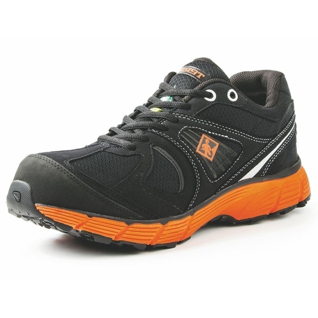 Terra Berufsschuhe Halbschuhe 38 Pacer S1P schwarz/orange Gr. 38 Halbschuhe Neu Y276 49b902