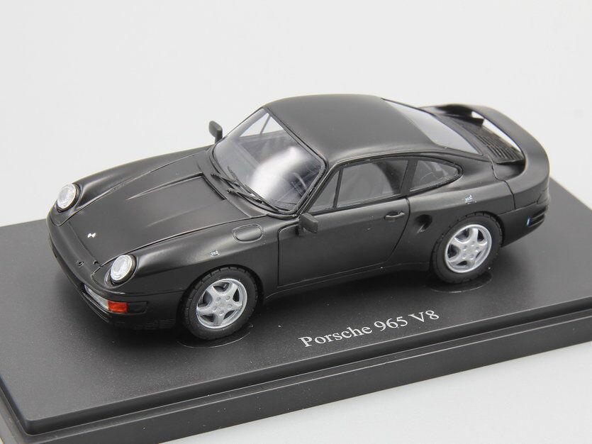 Autocult 1 43 Porsche 965 V8 prossootipo, aburrido nero, Alemania, 1988