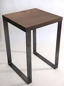 Hocker Nachttisch Beistelltisch Couchtisch Industriedesign Metall