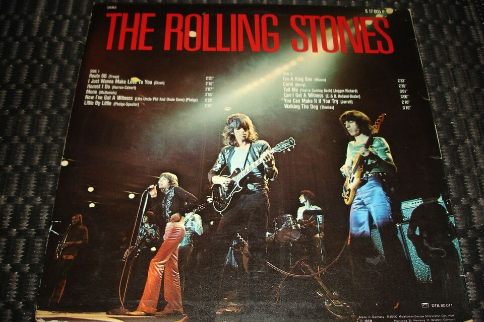 LP, The Rolling Stones, The Rolling Stones