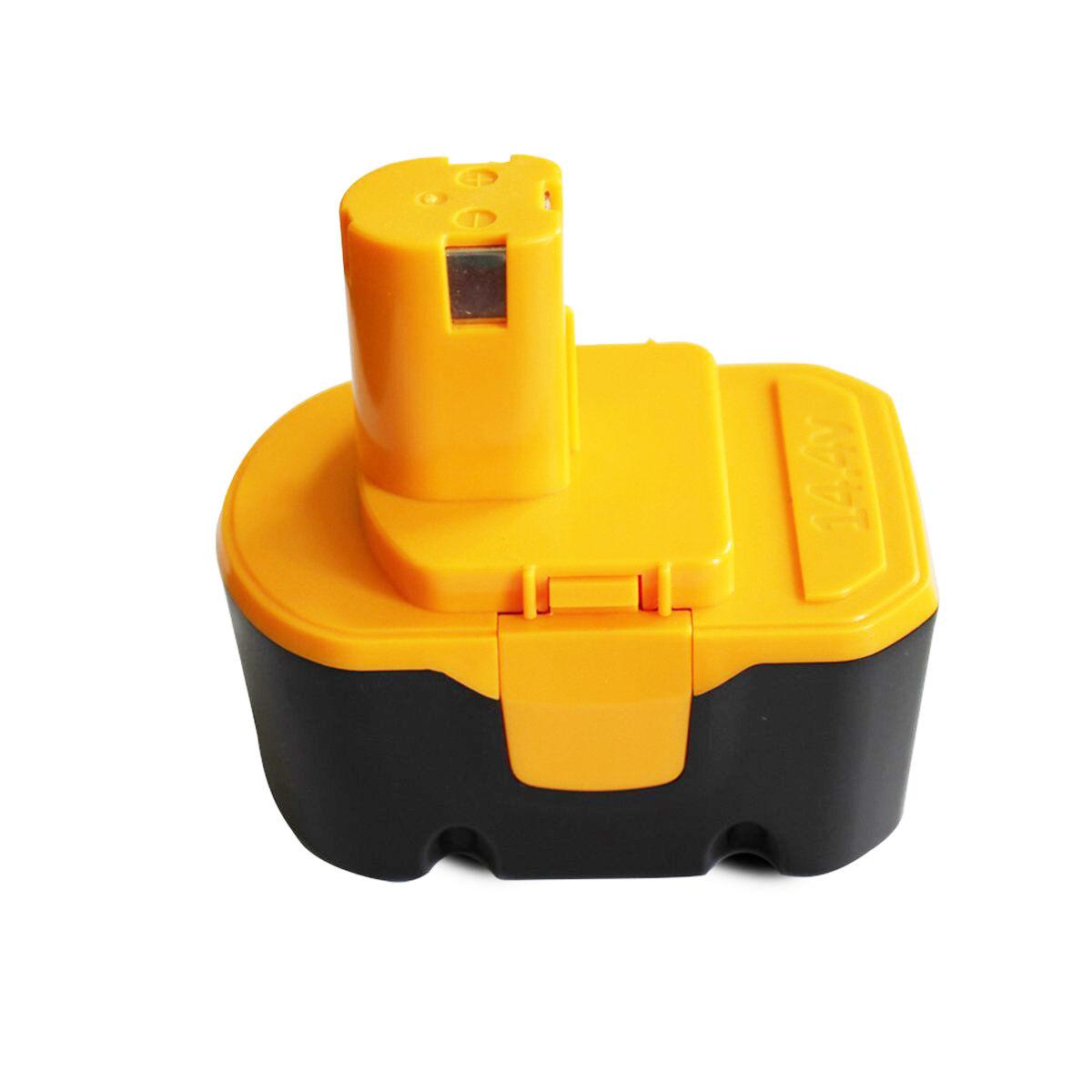 2000mah Ni-Cd 14.4V 2.0AH Replacement Battery for Ryobi Cordless Drill Tool