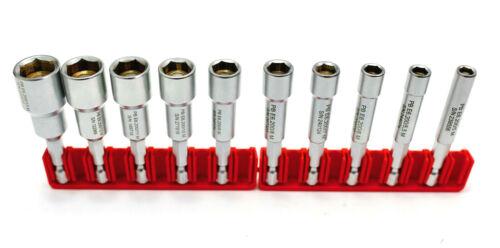 PB SWISS TOOLS PB E6-200M Steckschlüssel Biteinsätze Satz magnetisch 10-tlg.