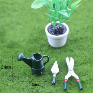 1-Set-dollhouse-miniature-toy-mini-watering-pot-scissors-shovel-tool-TS-D