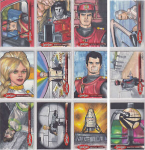 Captain Scarlet 50 Years Autograph Trading Card Selection Unstoppable Cards